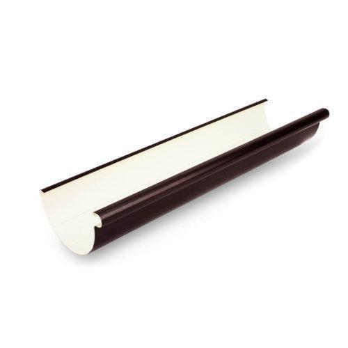 Ринва-4м-130-ПВХ-темно-коричнева