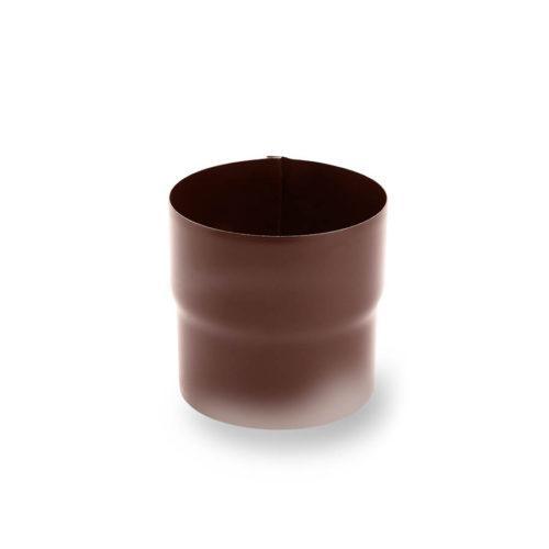 SS-90-Зєднувач-труби-Galeco-СТАЛЬ-шоколадно-коричневий