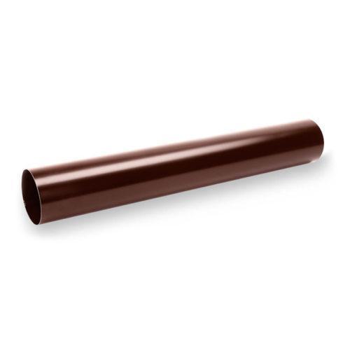 SS-90-Труба-3м.-Galeco-СТАЛЬ-шоколадно-коричневий