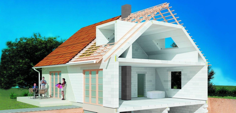 технология строительства блочного дома